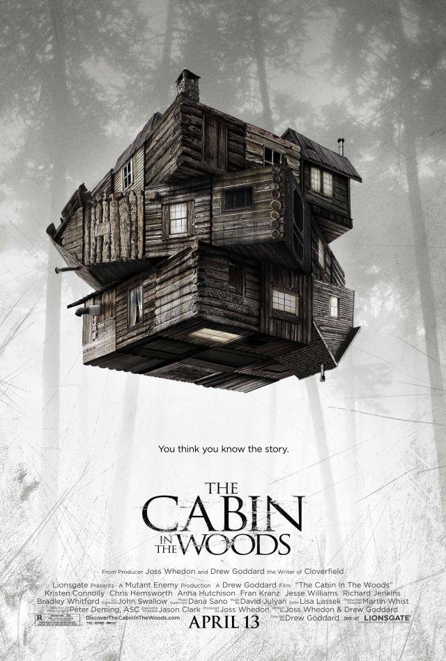 ใบปิดบิดเบี้ยวของ The Cabin in the Woods จากจอส วีดอน | JEDIYUTH