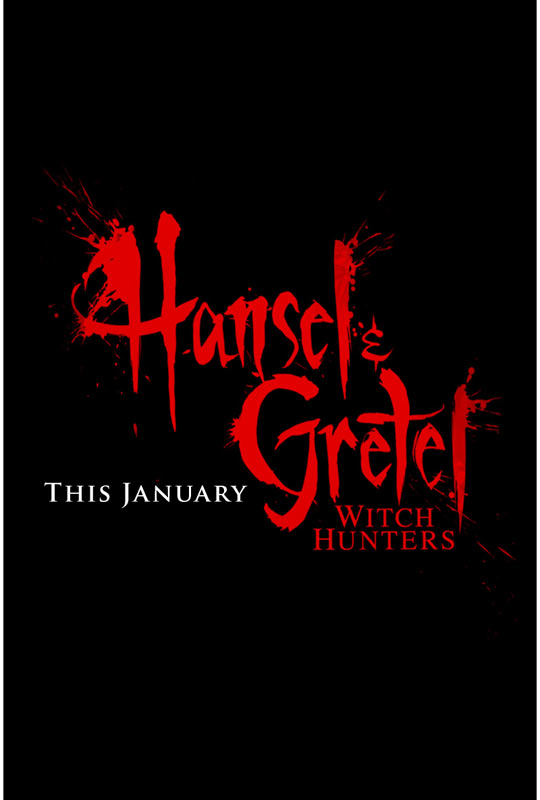 Hansel and Gretel Witch Hunters Teaser Poster