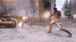avengers fight scene vfx
