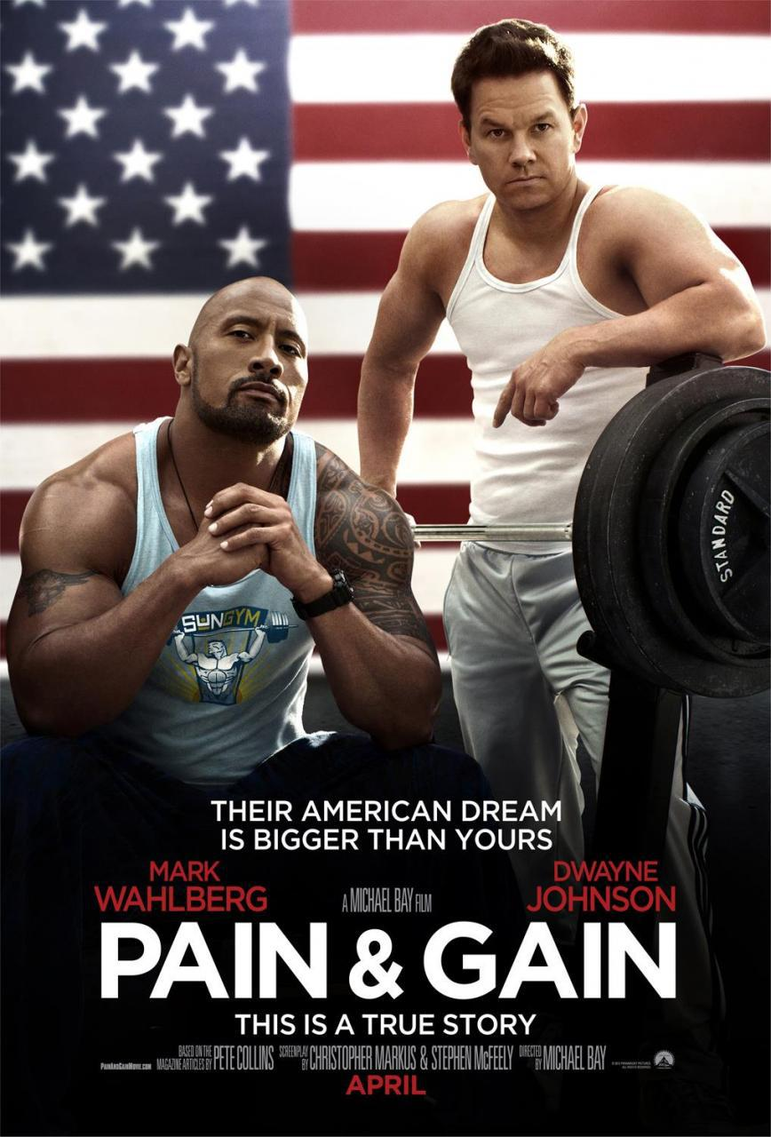 pain and gain poster 2