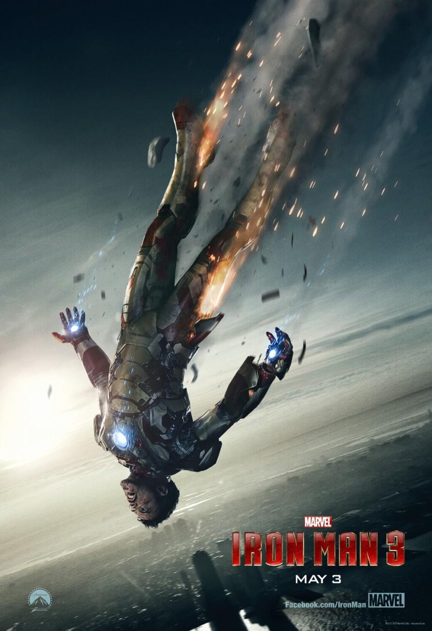 iron man 3 poster new