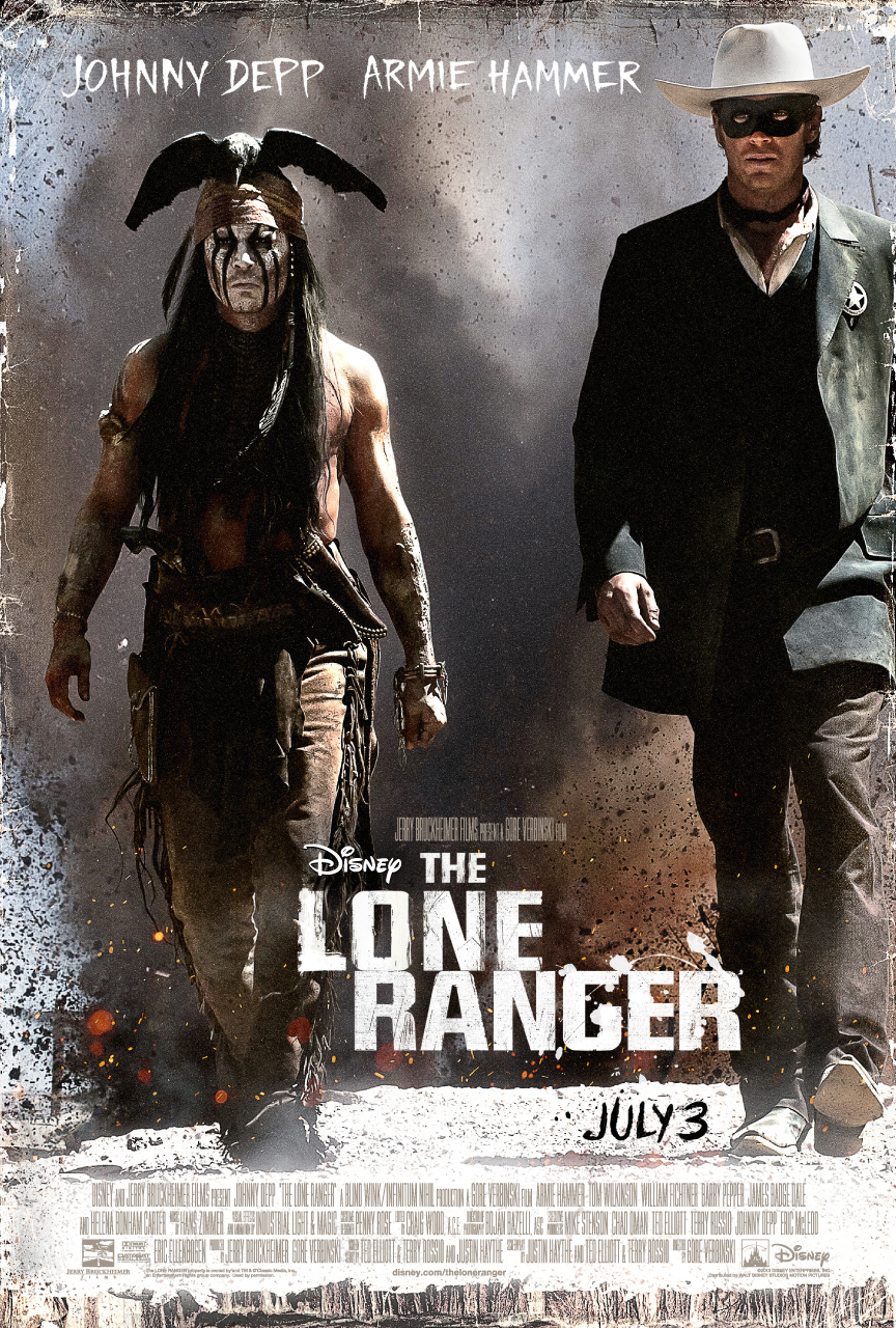 the lone ranger new poster
