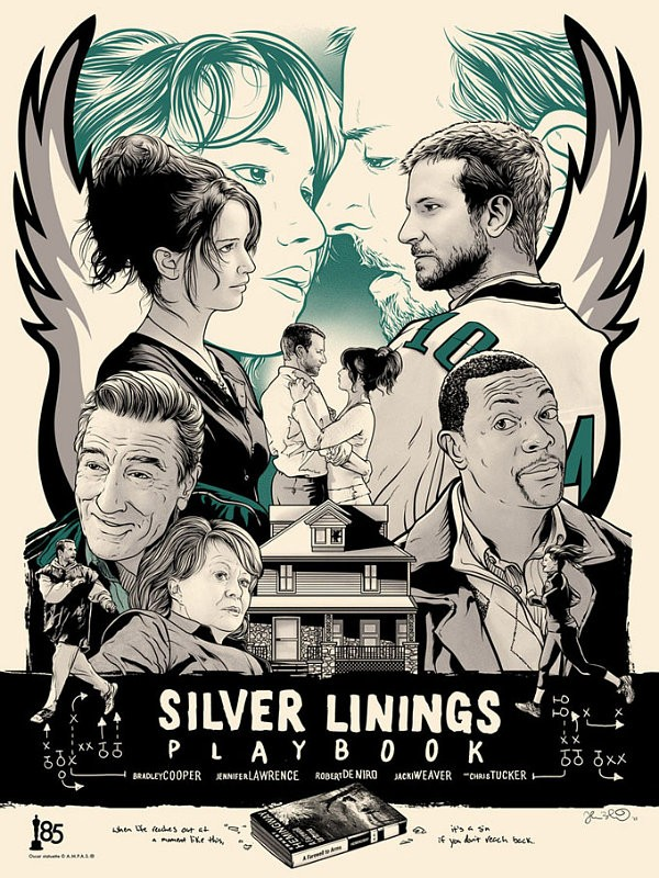 2013 oscars posters silver linings playbook
