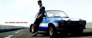 fast & Furious 6 walker poster