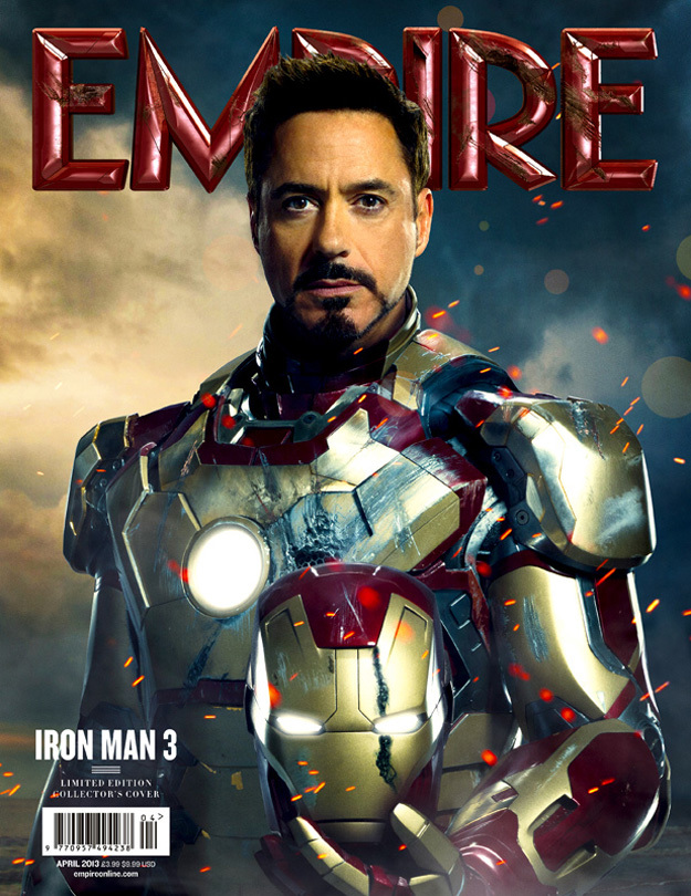 iron man3 empire cover