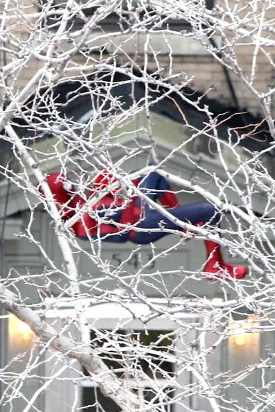the amazing spider-man 2 set feb02