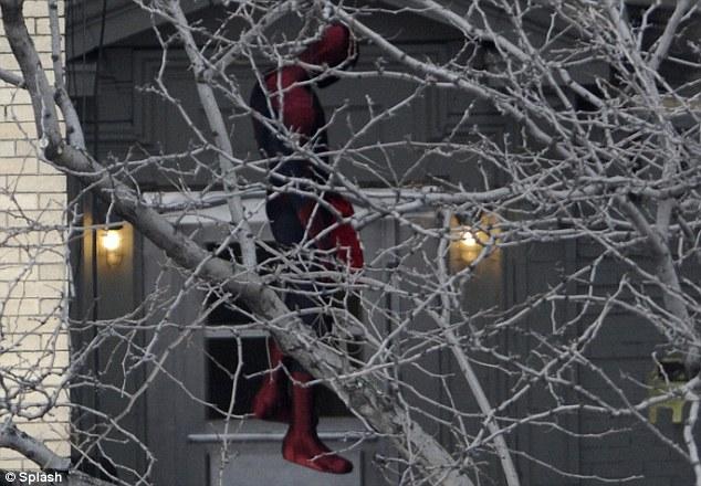 the amazing spider-man 2 set feb04
