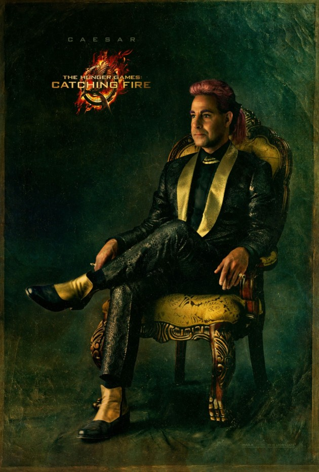 catching fire Caesar Portrait