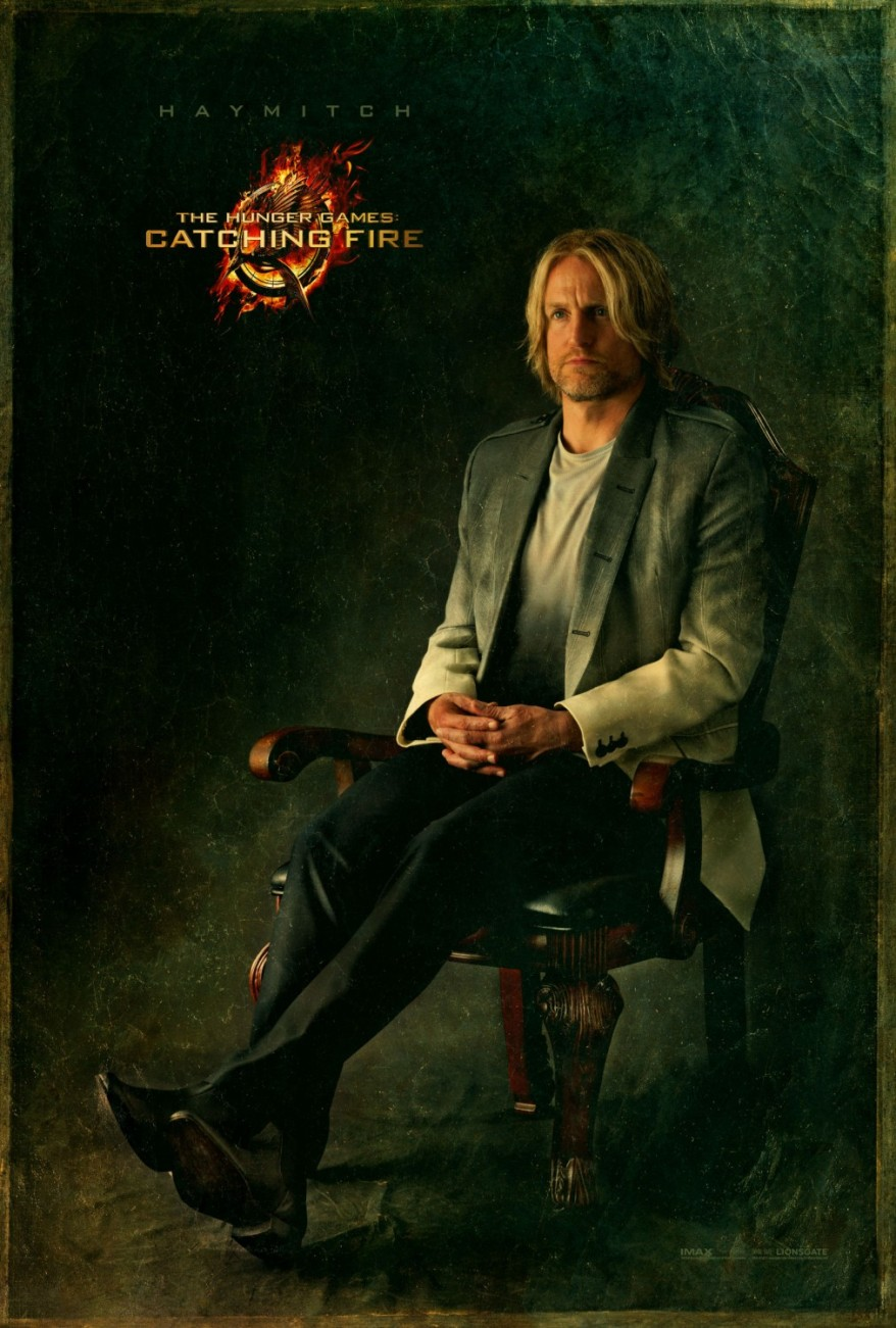catching fire Haymitch Portrait
