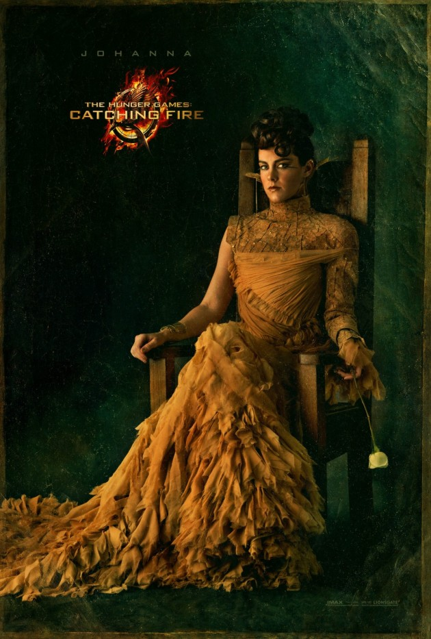 catching fire Johanna Mason Portrait