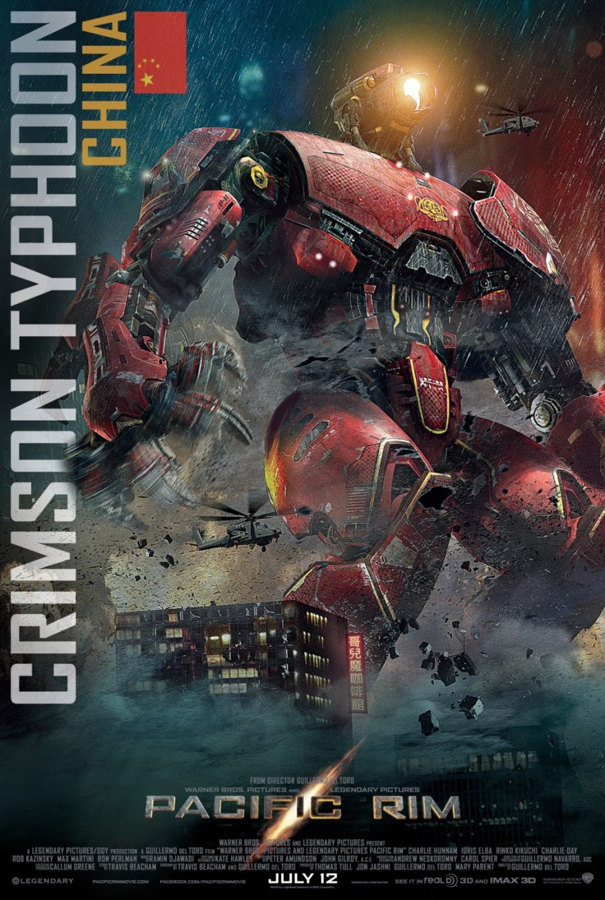pacific rim crimson typhoon poster