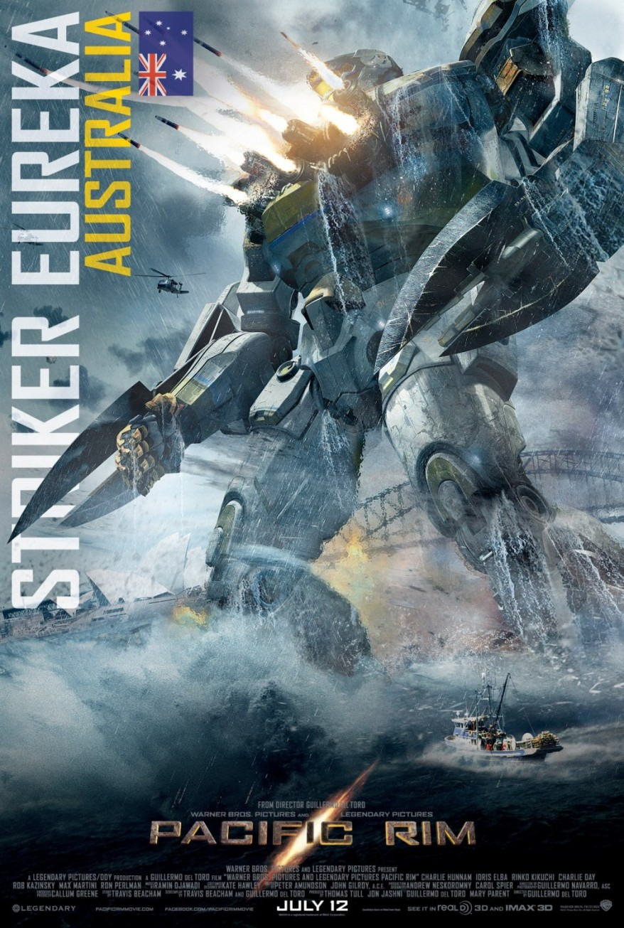 pacific rim striker eureka poster