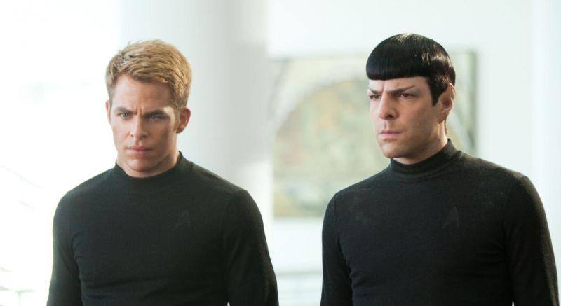startrek 2 kirk and spock