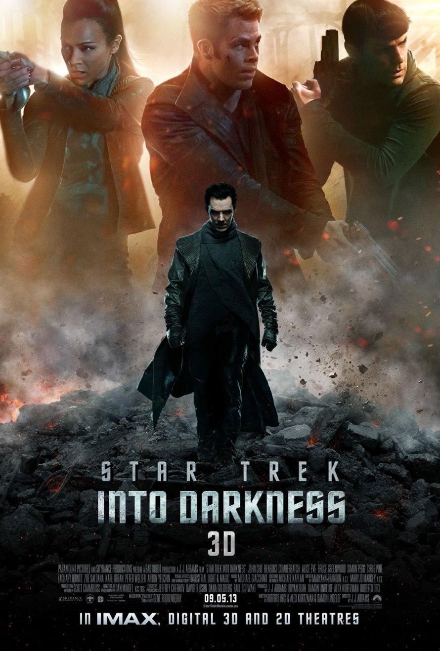 startrek into darkness intl poster