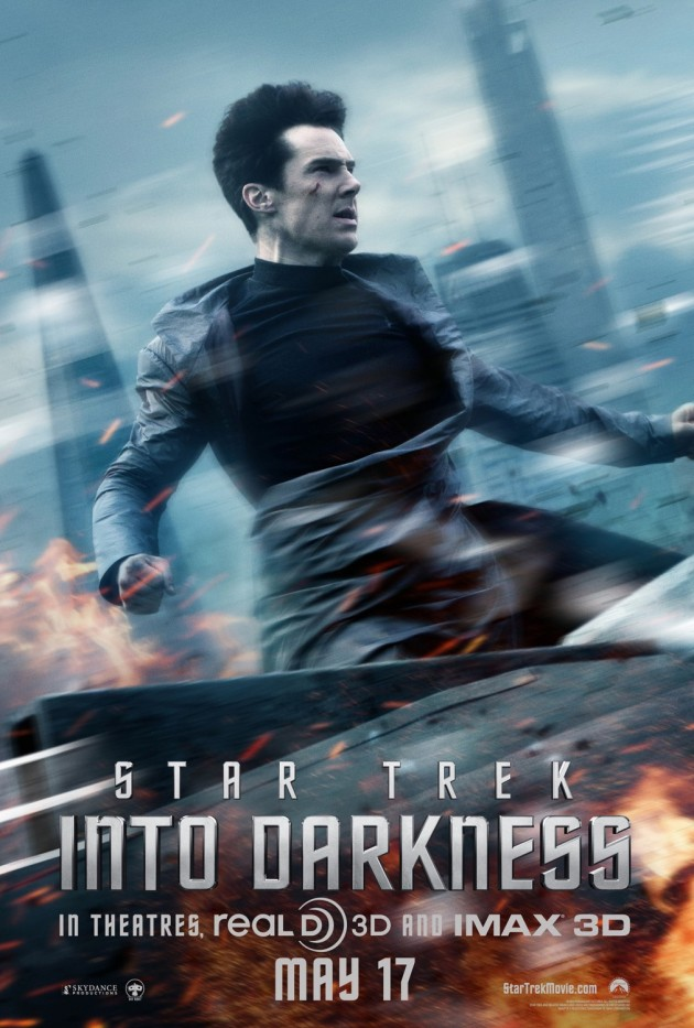 star trek into darkness john poster