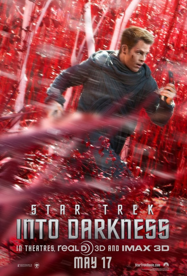 star trek into darkness kirk poster