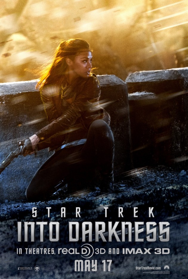 star trek into darkness uhura poster