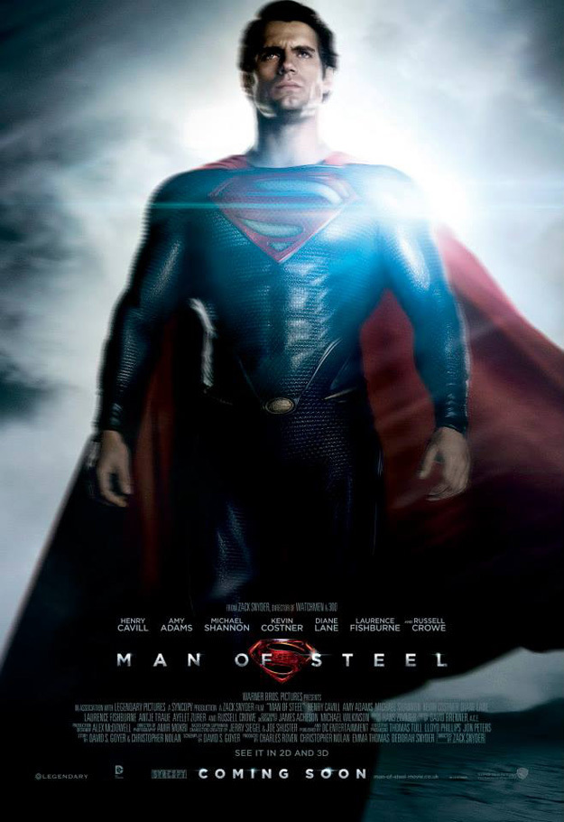 man of steel char poster 01