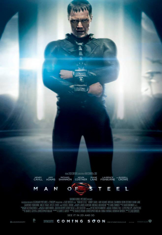 man of steel char poster 02