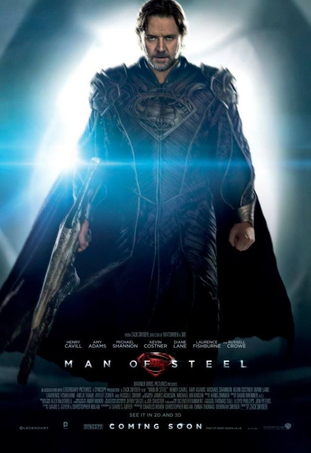 man of steel char poster 03