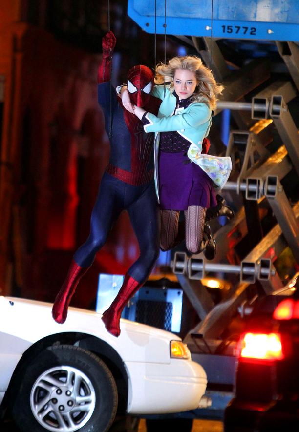 amazing spider-man 2 gwen fate set 02