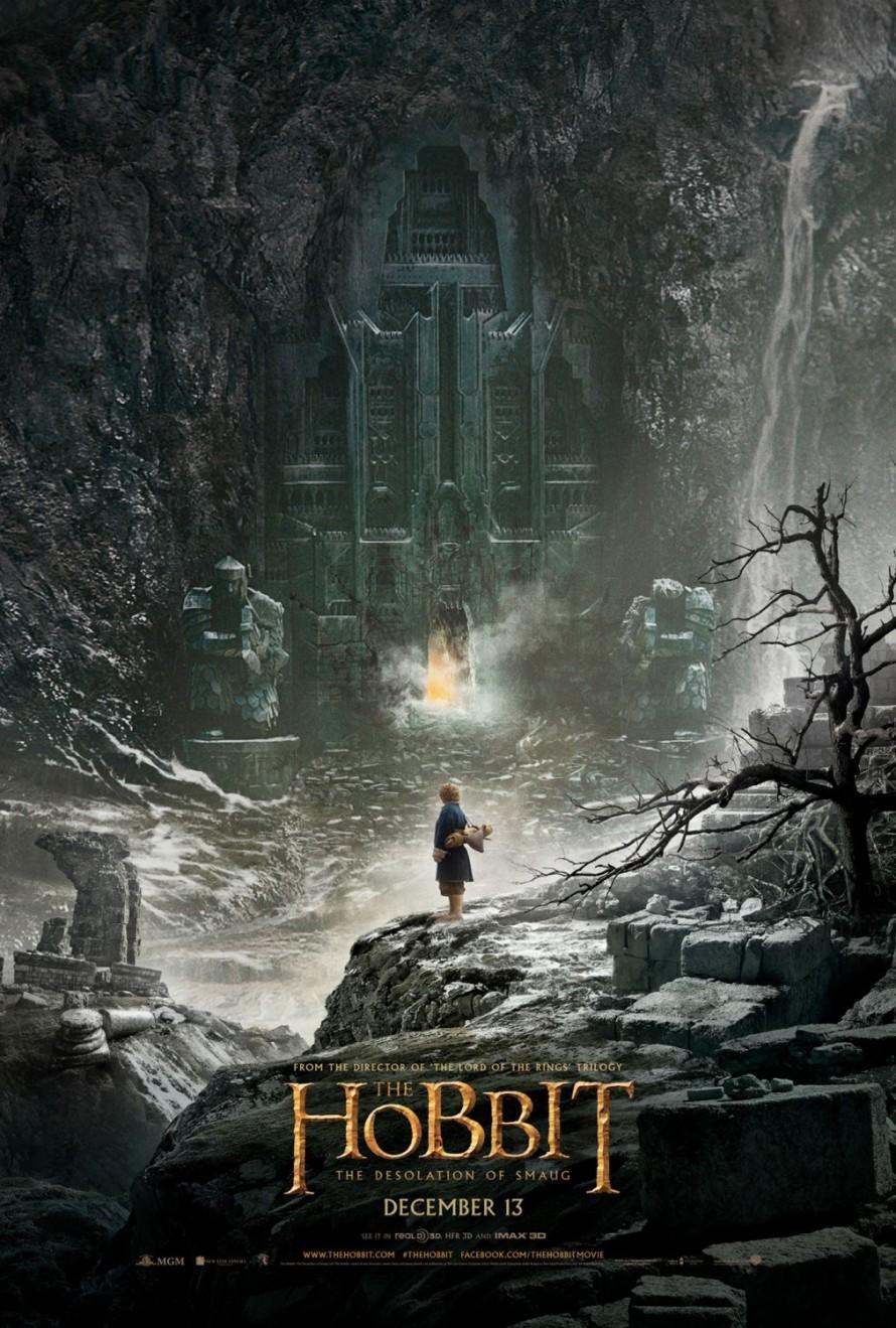 hobbit the desolation of smaug teaser poster