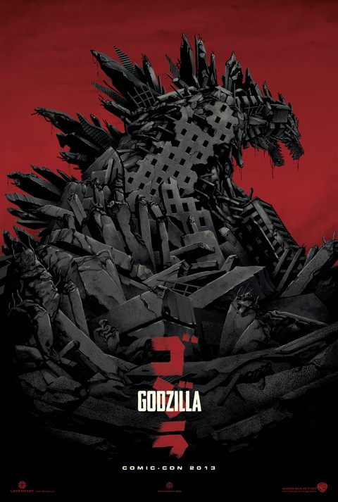 godzilla comiccon poster