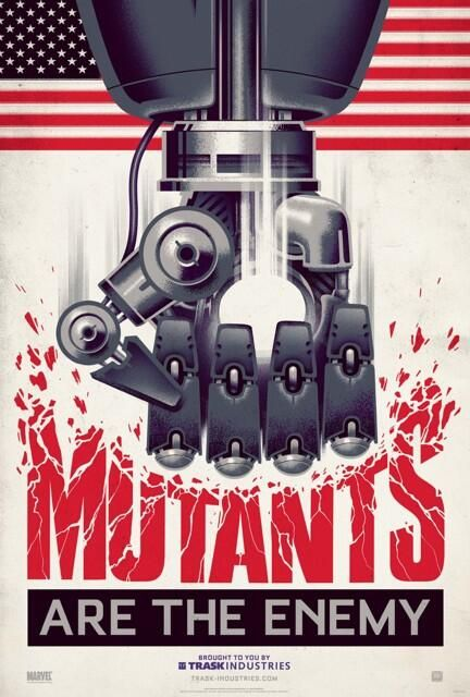 mutans are the enemy poster