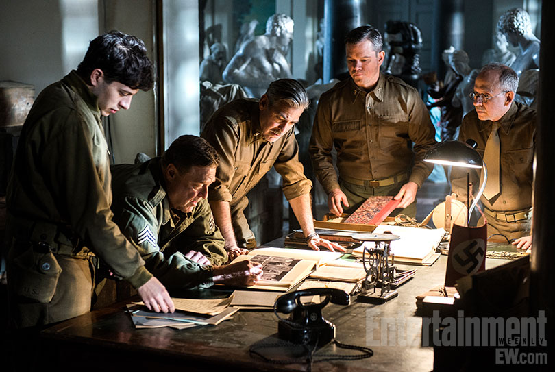 the monuments men ew firstlook