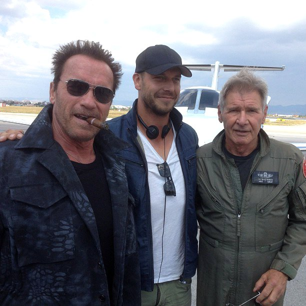 the expendables 3 arnold ford first day