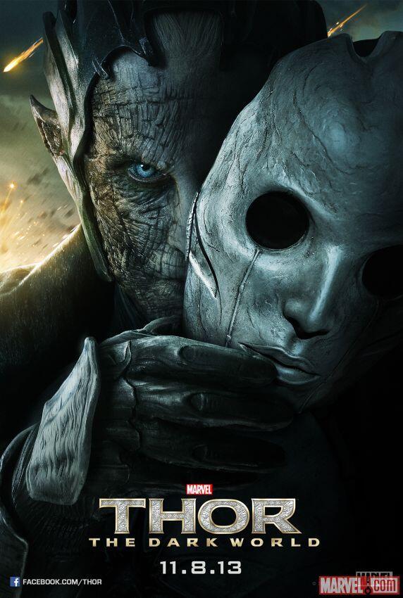 thor the dark world malekith poster