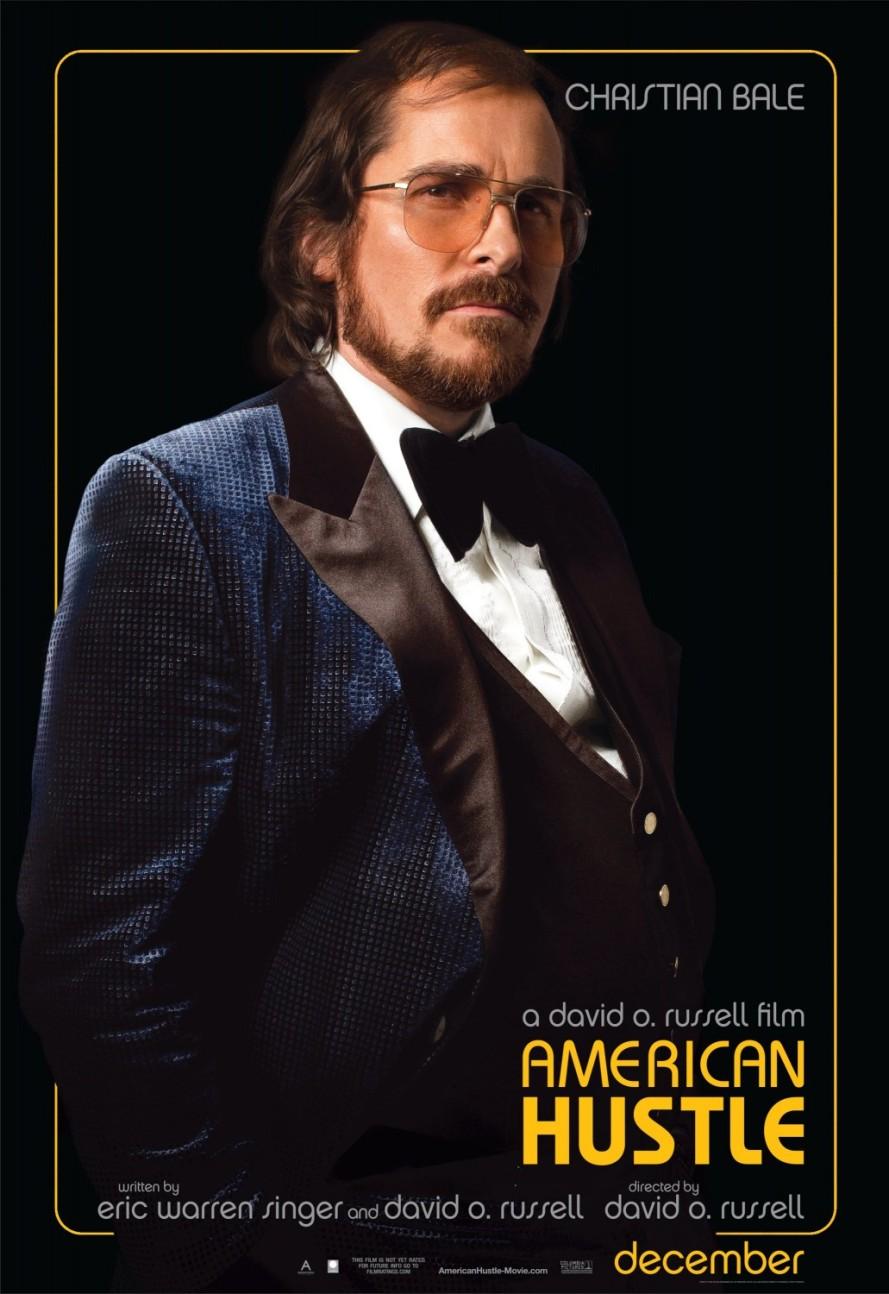 american hustle christian bale poster