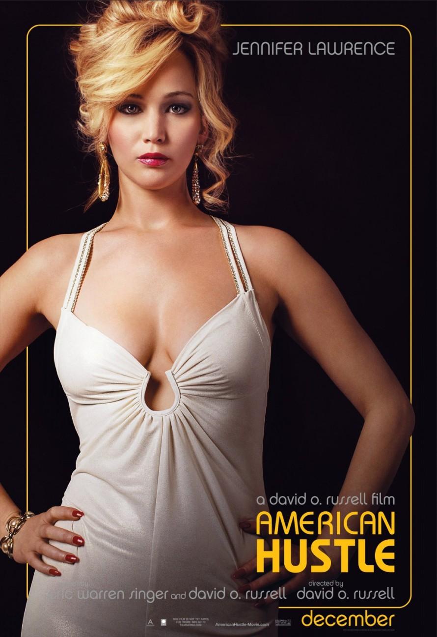 american hustle jenifer lawrence poster
