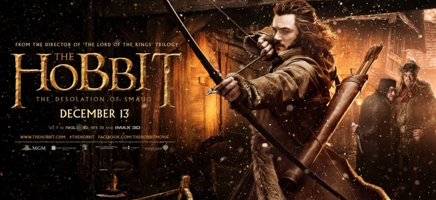 The Hobbit Desolation of Smaug Bard bowman banner