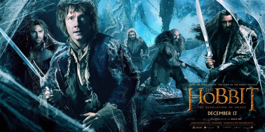 The Hobbit Desolation of Smaug first banner