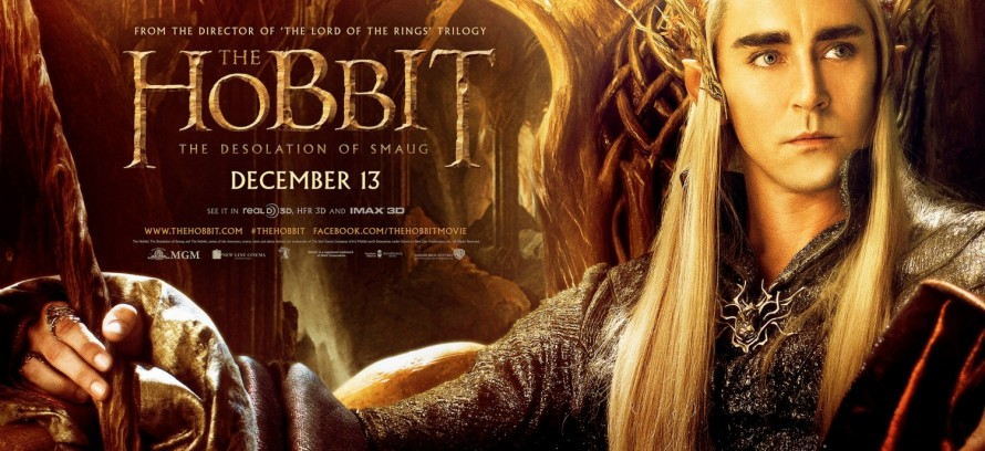 The Hobbit Desolation of Smaug Thranduil banner