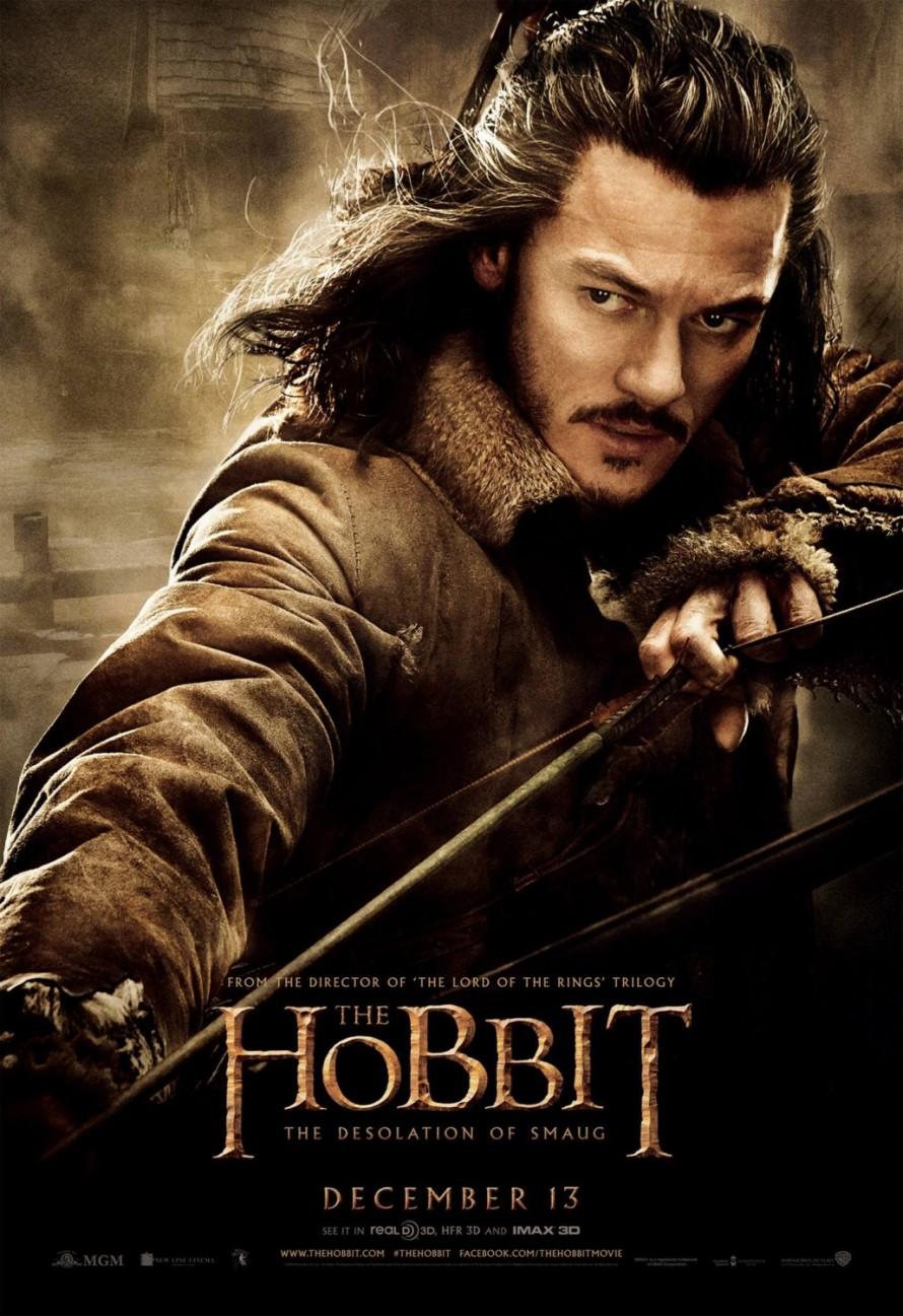 the hobbit 2 bard poster