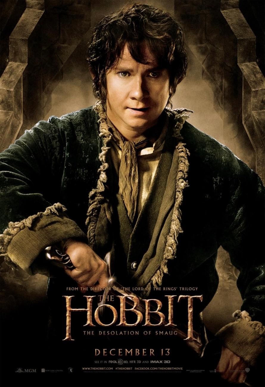 the hobbit 2 bilbo poster