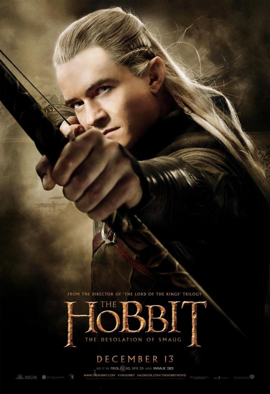 the hobbit 2 legolas poster