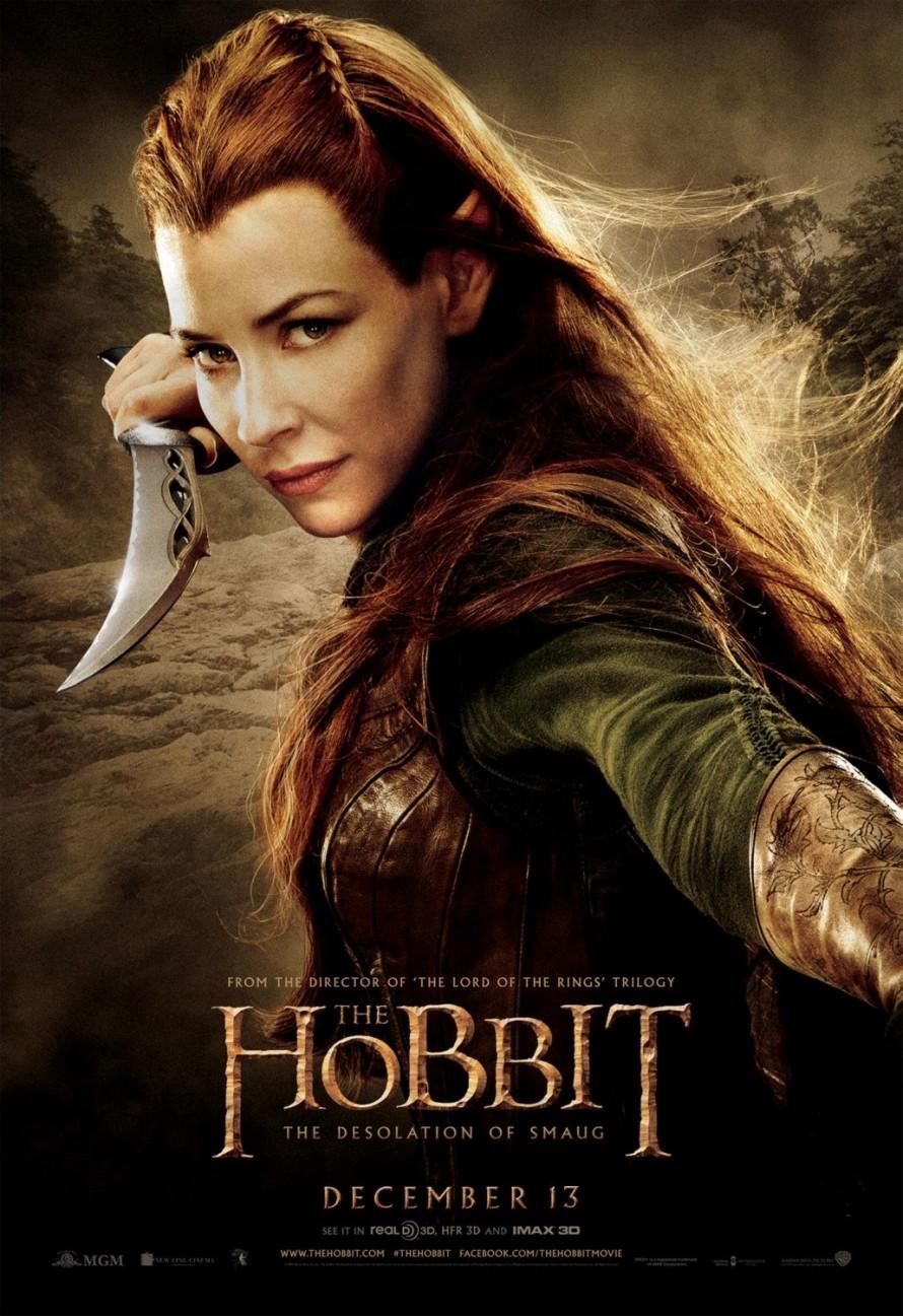 the hobbit 2 tauriel poster