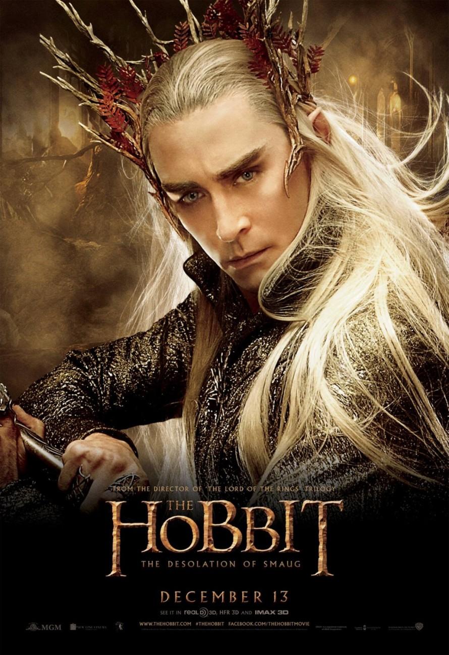 the hobbit 2 thranduil poster
