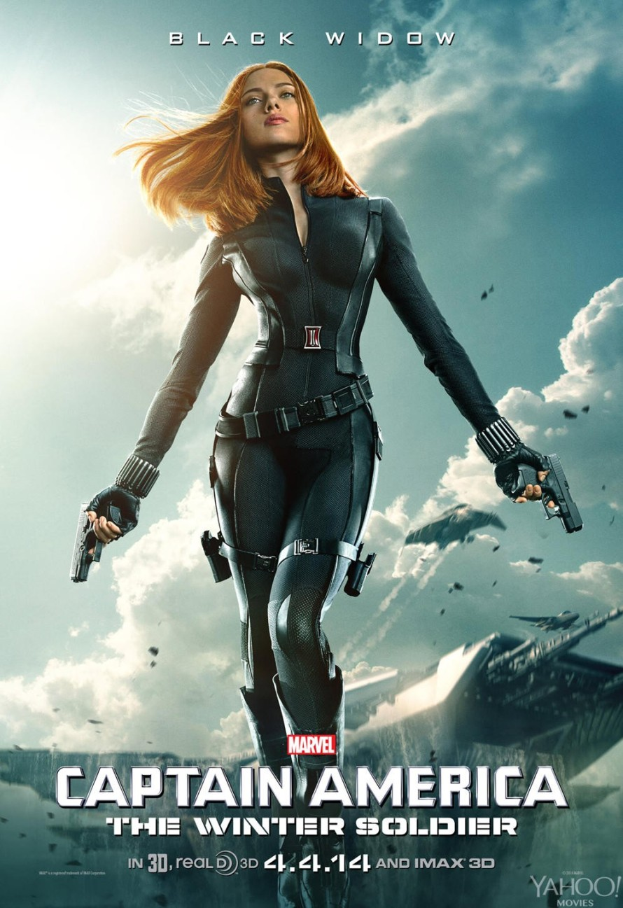 captaian america winter soldier natasha poster