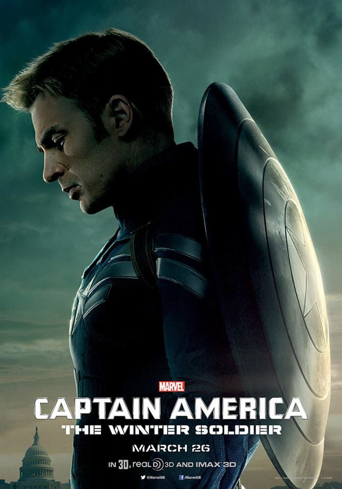 captaian america winter soldier new poster