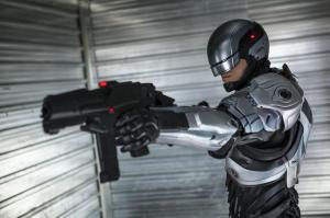 robocop silver suit