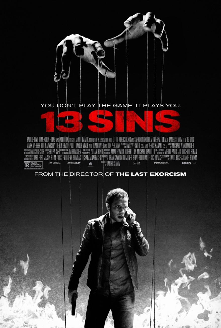 13 sins poster 01