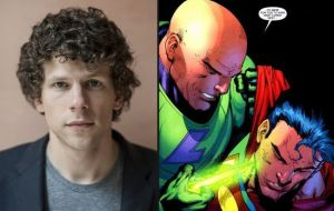 Jesse Eisenberg as Lex Luthor in batman vs superman