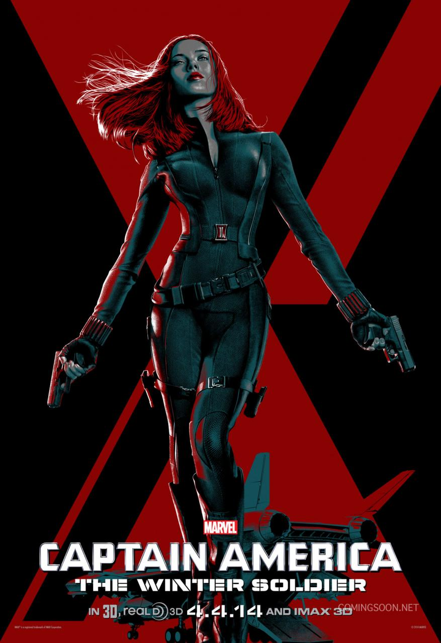 Captain America The Winter Soldier stylized poster 02