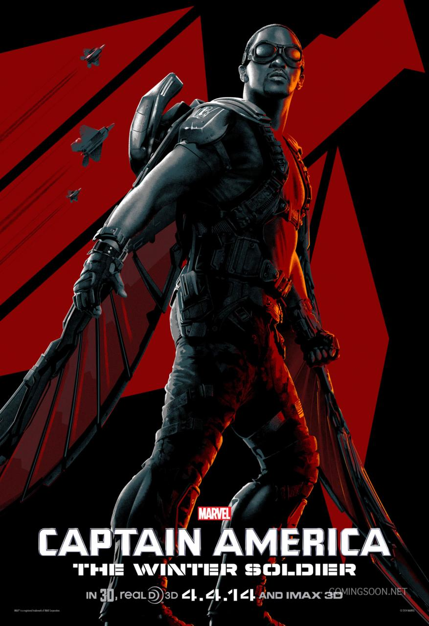 Captain America The Winter Soldier stylized poster 03