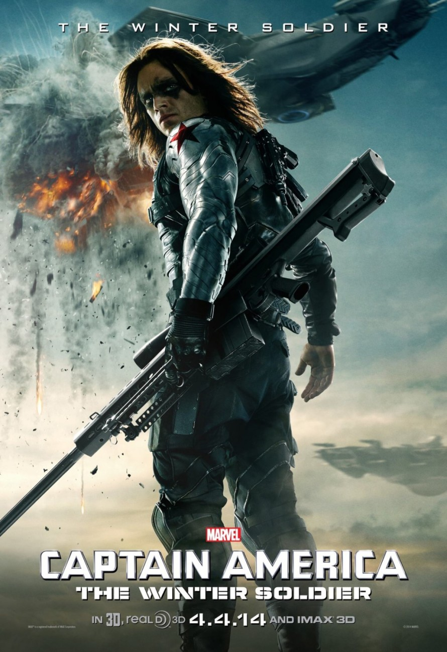 captain america the_winter soldier character poster