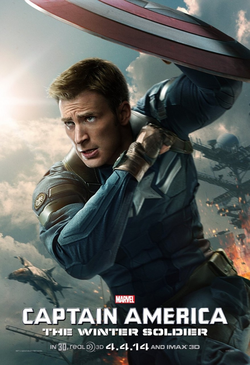 captain america winter soldier uk poster